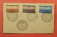 1938 EGYPT FDC INTL TELECOMMUNICATION CONFERENCE CAIRO
