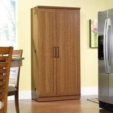 Sauder 411965 Homeplus Collection Sienna Oak Storage Cabinet