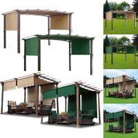 15.5' 17' Patio Pergola Canopy Replacement Cover Outdoor Garden Yard 200g UV30+