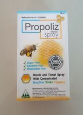 Propoliz Mouth Spray 15 ml Brazilian Green Propolis 100 % Natural World Shipping