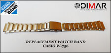 REPLACEMENT WATCH BAND CASIO ORIGINAL FOR CASIO W-756