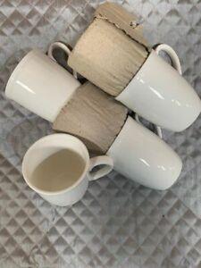 SET OF 6 BRITISH AIRWAYS BUSINESS CLASS CLUB WORLD COFFEE / TEA CUPS