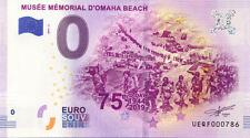 14 SAINT-LAURENT-SUR-MER Musée Mémorial Omaha Beach 2, 2019, Billet 0 € Souvenir