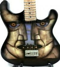 Pink Floyd The Division Bell Miniature Tribute Guitar (UK SELLER)