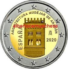 2 euro 2020 Spagna mudéjar Aragona Espagne España Spain Spanien Испания 西班牙