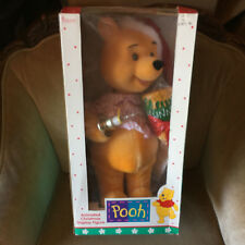 "22"" Disney Telco Animated Lights Winnie The Pooh Motionette Christmas Display"