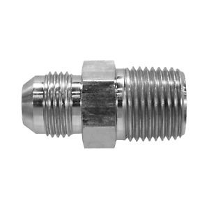 """2404-08-08 Hydraulic Fitting 1/2"""" Male JIC to 1/2"""" Male Pipe 2404-8-8"""