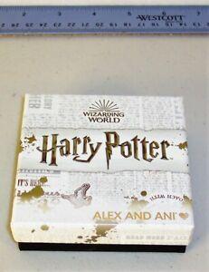 Empty ALEX and ANI Harry Potter Jewelry Gift Box w/Lid, No Bracelet