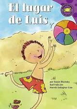 El lugar de Luis (Read-it! Readers en Español: Story Collection) (Spanish Editio