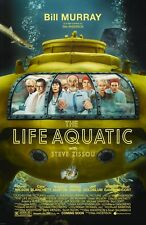 The Life Aquatic With Steve Zissou movie poster - 11 x 17 inches - Wes Anderson
