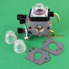 Replace Zama Carburetor + Primer Bulb + Carb Gasket for STIHL FS38 FS45 FS45C