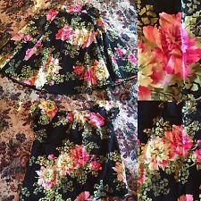 "30"" waist DARK BLOSSOM Pinup Girl XL Bernie Dexter top Betty Le BonBon Clothing"