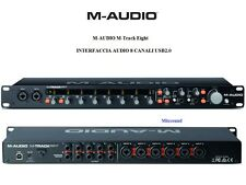 M-AUDIO M-Track Eight INTERFACCIA AUDIO 8 CANALI USB2.0 24-bit/96 kHz + SOFTWARE