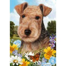Summer Garden Flag - Lakeland Terrier 182341