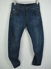 G-STAR RAW ARC 3D TAPERED Men's W29/L32 Twisted Blue Whisker Wash Jeans 21772_JS
