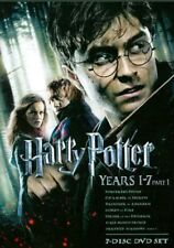 Harry Potter Years 1-7 Part 1 Gift Set+ Part 2 Daniel Radcliffe All episodes DVD