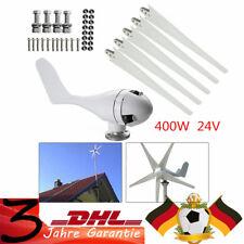 5 Blade Windrad Windkraftanlage Garten Windturbine windgenerator 400W Laderegler