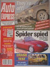 Auto Express magazine 22-28/4/1994 Issue 291 featuring Isuzu, Land Rover, Toyota