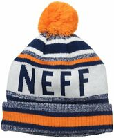 c801ce69312 Neff Beanies Mens Daily Beanie Stripe Navy Multi One Size ...