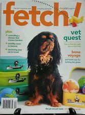 Fetch No 2 Issue 28 2016 Pet Magazine Healthy Pedigree Disease FREE SHIPPING sb