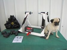 Elite Power Fluid Bike Trainer Bicycle Indoor Exercise Foldable w/CycleOps Stand