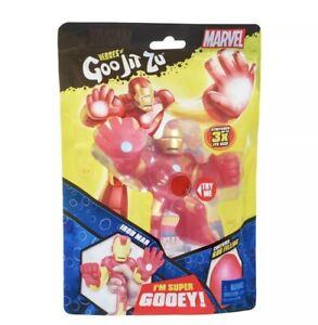 Heroes of Goo Jit Zu Marvel Superheroes IRON MAN Squishy Gooey Toy Action Figure
