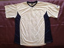 Elite Men's Athletic Workout Shirt White Short Sleeve Dry Fit Size 4X Large