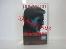 TOM CRUISE Mission Impossible VHS Video(PAL FORMAT)Brand New