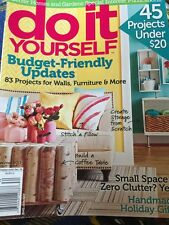 Better Homes And Gardens Do It Yourself Magazine Winter 2013