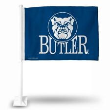 Butler University Bulldogs NCAA 11X14 Window Mount 2-Sided Car Flag