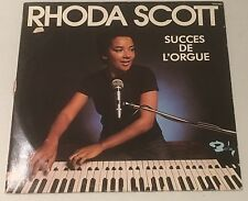 RHODA SCOTT - A L'ORGUE 4 - French Barclay LP incl 'Splanky'+'Mach II'
