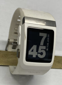 TomTom Nike + SportWatch White GPS Watch Nice No Charger