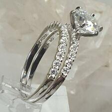 Wedding Ring Set Sz 10 New Jtv BellaLuce4.78ctwRho diumoverSterlingSilv er