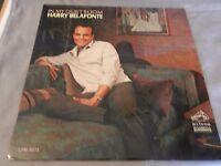 Harry Belafonte In My Quiet Room RCA Victor LP #LPM-3571