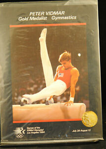 PETER VIDMAR 1984 OLYMPICS 8.5X11 INCHES POSTER NOS