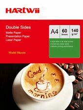 A4 140Gsm Matte Matt Double Side Photo Paper Laser Paper 120-600 Sheets
