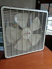 "Vintage Superlectric 22"" 3 Speed Box 2023B Fan Rocks!"