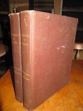 RARE E.E. SALISBURY FAMILY-HISTORIES AND GENEALOGIES 1892 VOL I AND III LTD EDN
