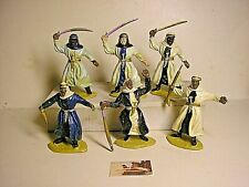 Soldatini Toy soldiers Timpo Solid Mould Arabi scala 1:32 mm 54 Dipinti a mano
