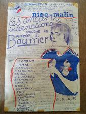 St-Maxime - 1977 - Anciens Internationaux France - Bande à Bourrier -Signée Jijé