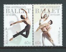 AUSTRALIA 2012 AUSTRALIAN BALLET  PAIR UNMOUNTED MINT, MNH