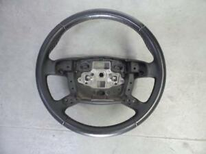 FORD MONDEO MA MB MC BLACK LEATHER STEERING WHEEL