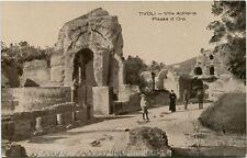 Primi 1900 Tivoli - Villa Adriana e Piazza d'Oro resti, Turisti - FP B/N ANIM