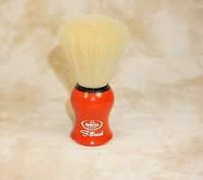 Omega S-Brush S10065 Synthetic Nylon Fiber Shaving Brush RED