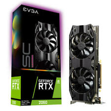 EVGA GeForce RTX 2060 SC Ultra GAMING, 06G-P4-2067-KR, 6GB GDDR6, Dual HDB Fans