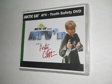 ARCTIC CAT ATV YOUTH RIDER SAFETY DVD TRAINING VIDEO ALTERRA 90 DVX90 TRV150....