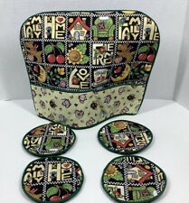 Mary Engelbreit Quilted Tea Cosy And Coaster Set New