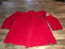 CENTURY MARTIAL ARTS HEAVY WEIGHT TAE UNIFORM KARATE RED ADULT SMALL SIZE 3