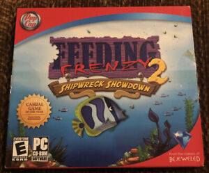 Video Game PC Feeding Frenzy 2 Shipwreck Showdown by PopCap Complete In Case
