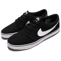 Nike SB Portmore II 2 Solar CNVS Canvs Men Black Shoes Skate Boarding 880268-010